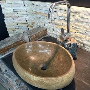 natural river stone sinks and basin