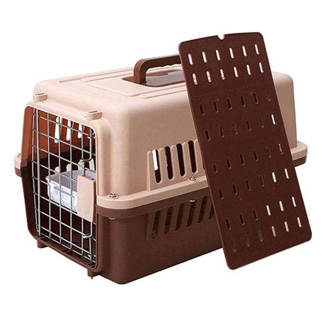 Best Selling X Small Pet Carrier Plastic Cat Car Travel Cage Cat Travel Carrier With Litter Tray