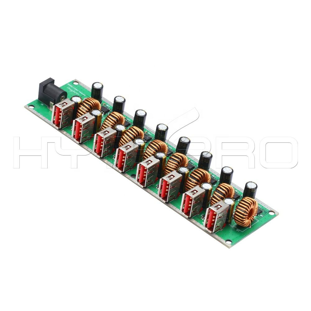 Custom 8 port usb hub charging pcb module printed circuit board manufacturers