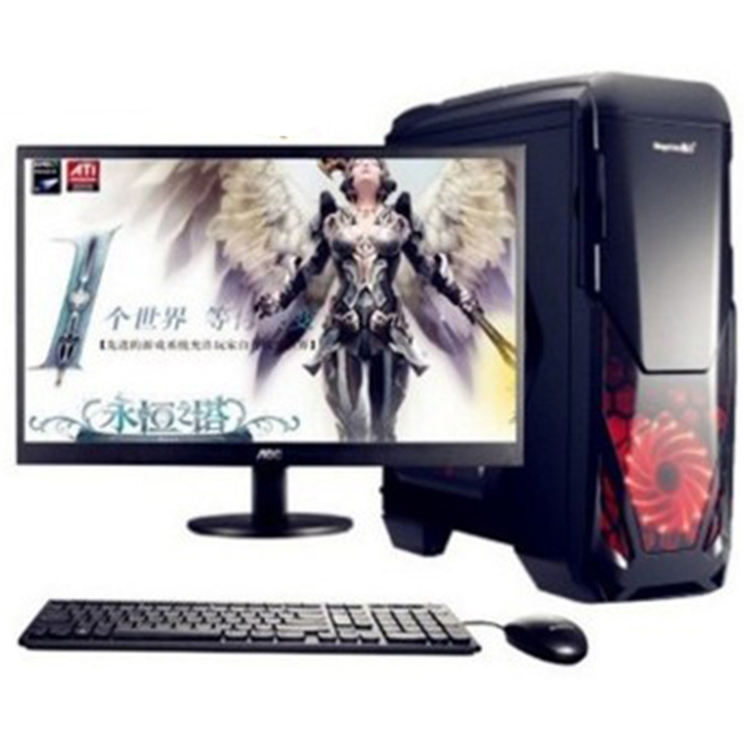 AMD i3 i5 i7 Win10 DDR3 DDR4 HDD SSD DVD-RW pc desktop computer system unit computer desktop