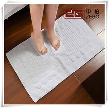 100% Cotton Excellent Water Absorbent Jacquard Fabric Hotel Bath Mat / Floor Towel