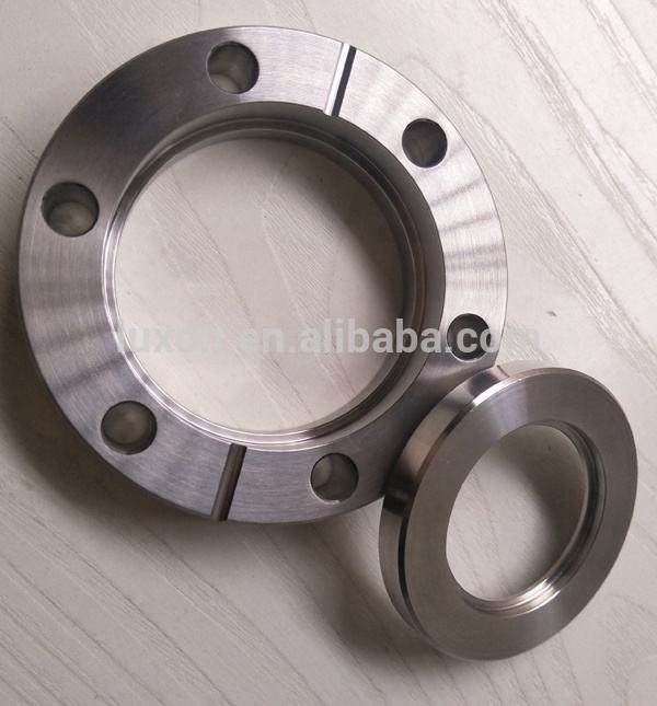 Vacuum Sanitary Rotatable Bored Flange for Conflate Weld Stainless Steel Pipe flanges