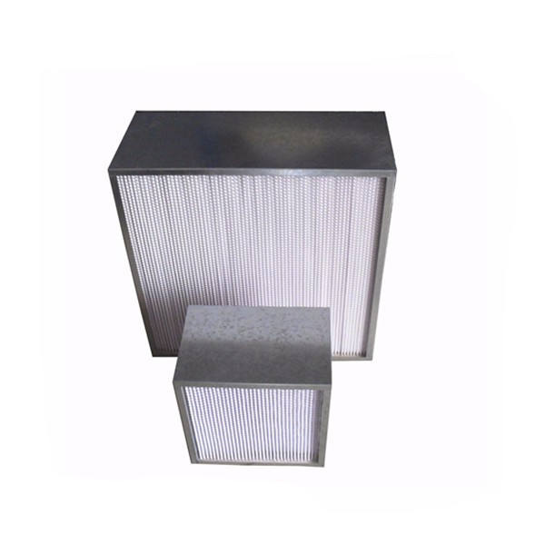 h14 99.99% high capacity box style hepa air filter