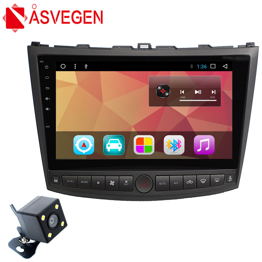 Factory Price Android 7.1 Cra DVD Player for Lexus IS 200 250 300 Support GPS OBD Playstore BT WIFI portable dvd player
