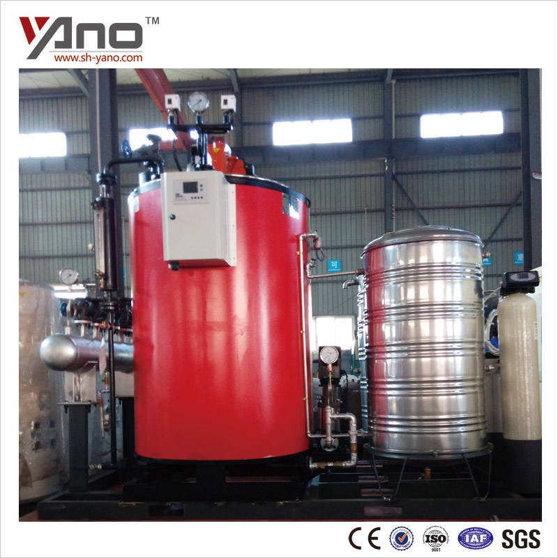 Hot Sale 200-1000Kg/h Fuel Oil and Gas Cooking Steam Boiler For Food Industries