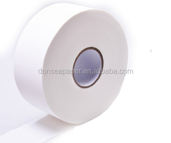 Embossing jumbo roll toilet paper tissue