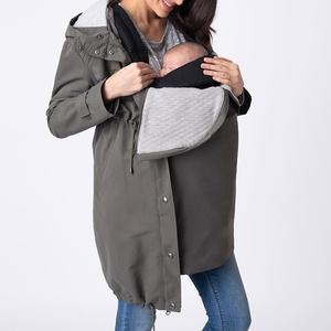 Womens 3 in 1 Mid-Weight Maternity Parka