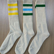 hemp socks men stripe design socks customer order design hemp cotton socks