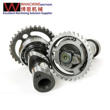 Manufacturing motorcycle gear wheel gear shaft by whachinebrothers ltd.