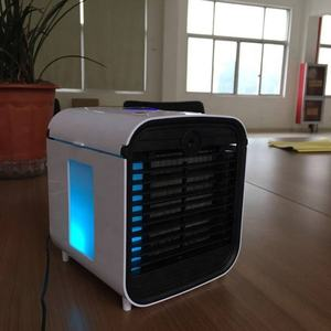 Portable Mini Air Cooler Arctic Air Conditioner 7 Colors LED Light Personal Space Cooler