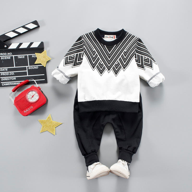 boys clothing sets 2018 autumn spring kids boys hooded clothes sport suit children casual tracksuit clothing