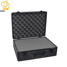 aluminum safety drone phantom flight case with custom foam insert
