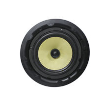 521006 30 watt 8 inch audinate coaxial Rimless Dante active ceiling speaker with RJ45 input interface