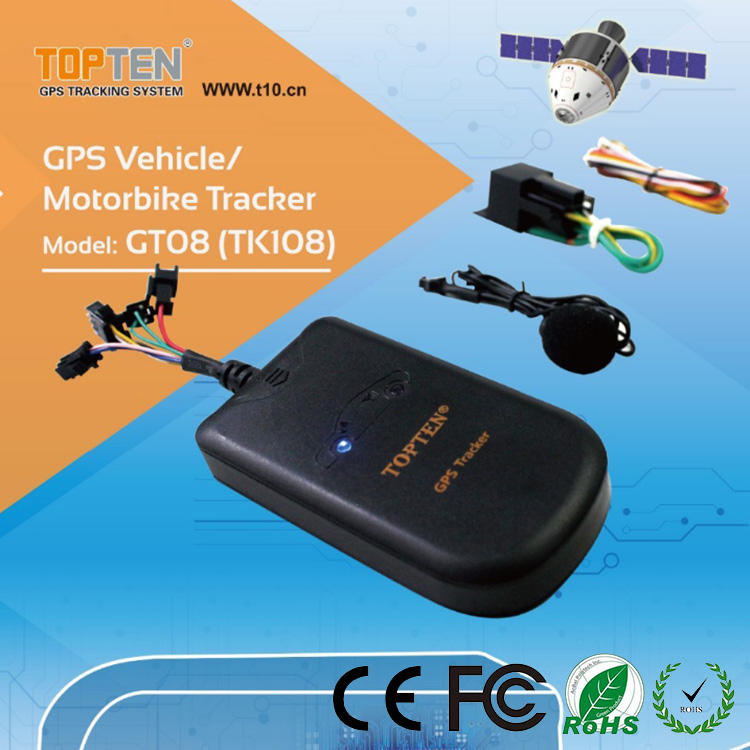 Door open alarm RFID driver identify car GPS vehicle tracker for real time tracking