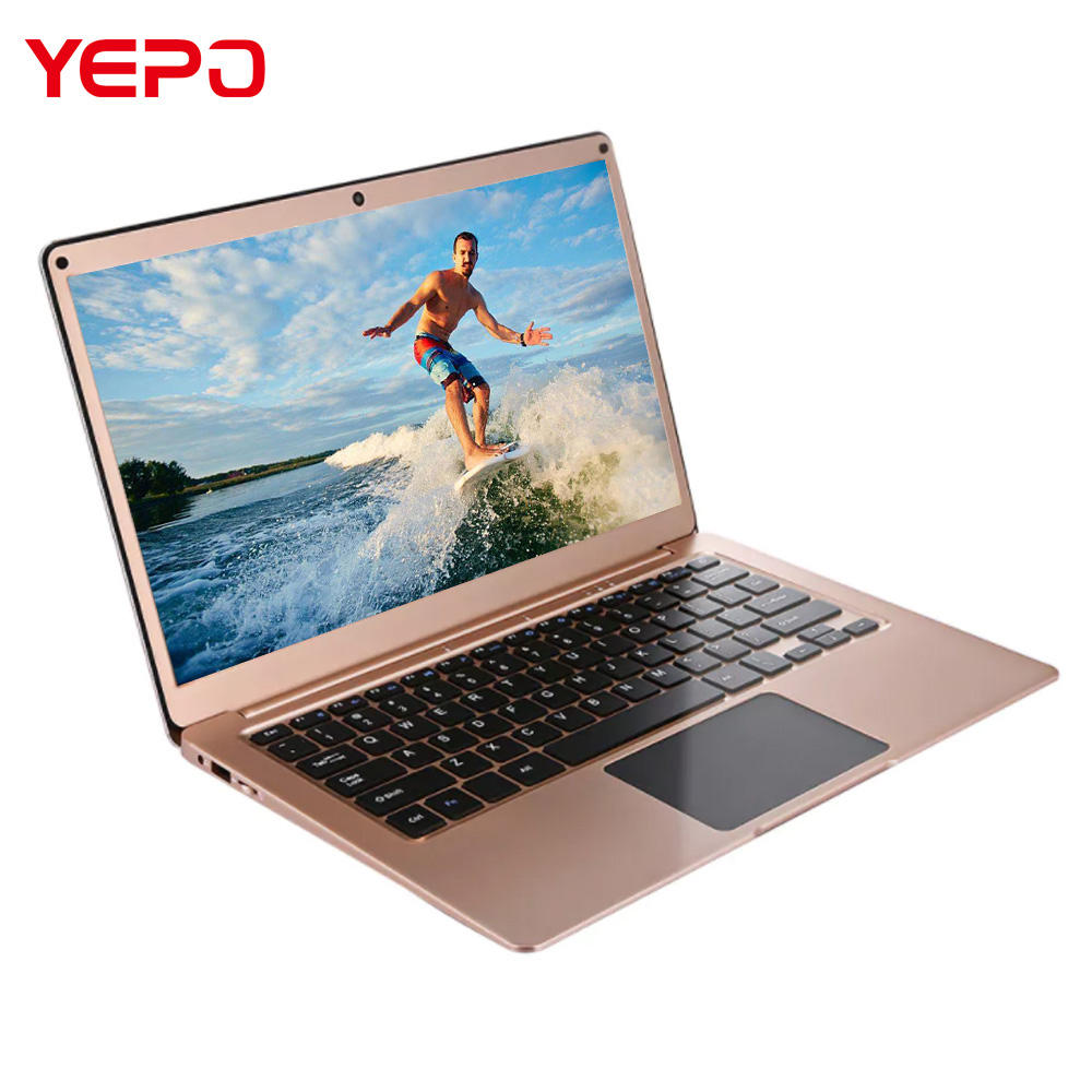 Grosir Casing Logam 13.3 Inci Laptop Apollo Danau N3450 Quad Core 4GB 64GB Notebook PC