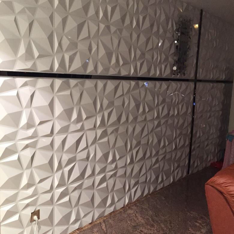 2019 paneles de pared 3D tablero materiales decorativos para pared