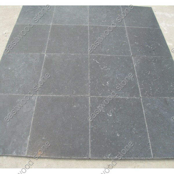 china black limestone flooring tile