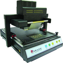 TJ-219 Ultra wide flat hot stamping printer Invitation couplet hot stamping machine for business CARDS,gift boxes, etc