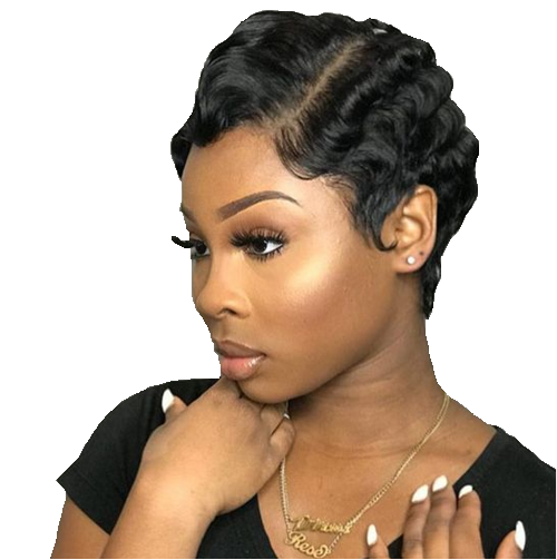 Hot selling Brazilian Remy Short Lace Front Human Hair Wigs For Beautiful Women