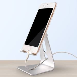 hot item adjustable rotation alloy aluminium foldable desk mobile cell phone holder and tablet stand for phone stand holder