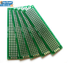 Double-Side Prototype PCB Universal Printed Circuit Board(2*8cm)