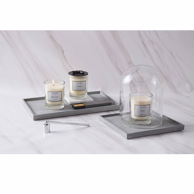 White Matte 젖 빛 <span class=keywords><strong>geo</strong></span> 컷 (gorilla glass) candle <span class=keywords><strong>jar</strong></span> 와 나무 Lid