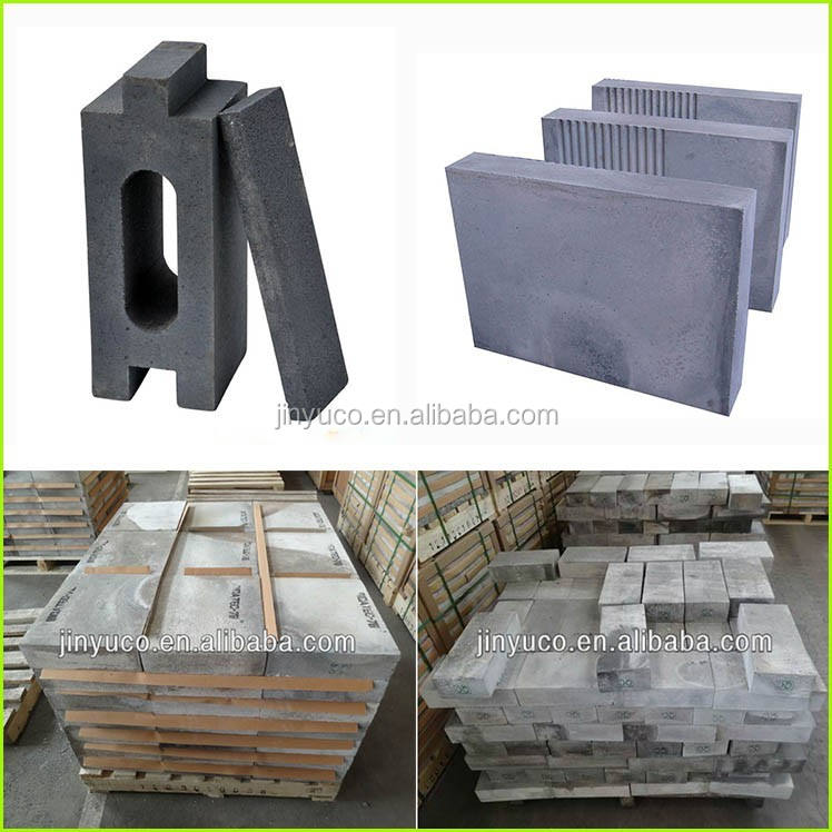 High working temperature silicon carbide refractory brick for pizzakiln/oven/furnace