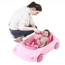 Wholesale Colorful Car Baby Bathtub for Home New Design Simply Kids Bath tub
