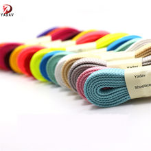 Yadav Wholesale Custom Flat Tubular Polyester sneaker Shoe Laces