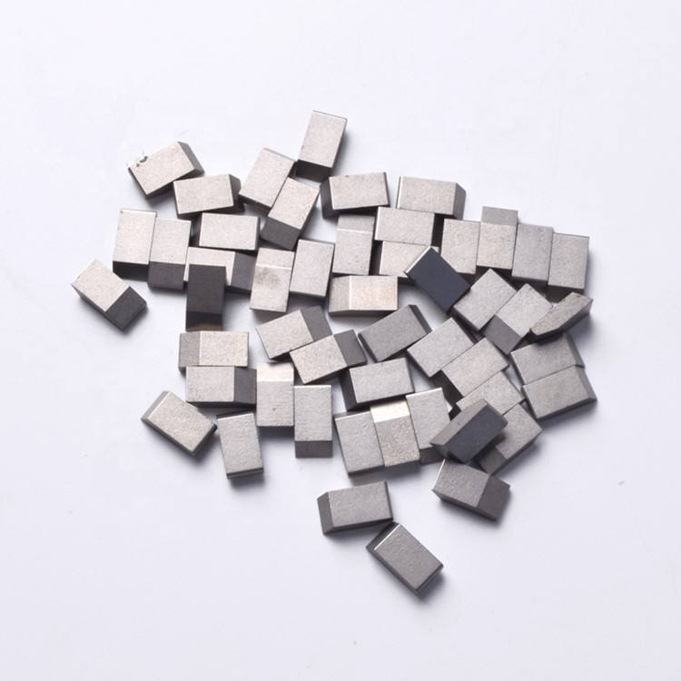 Hardmetaal Tips/Tungsten Carbide Saw Tips Voor Snijden Hout Harde Materialen