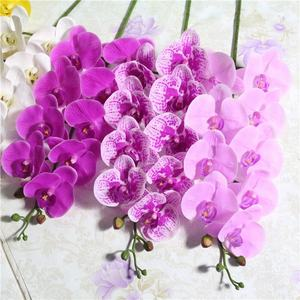 Wholesale European style simulation plant artificial orchid Phalaenopsis dendrobium orchid plants
