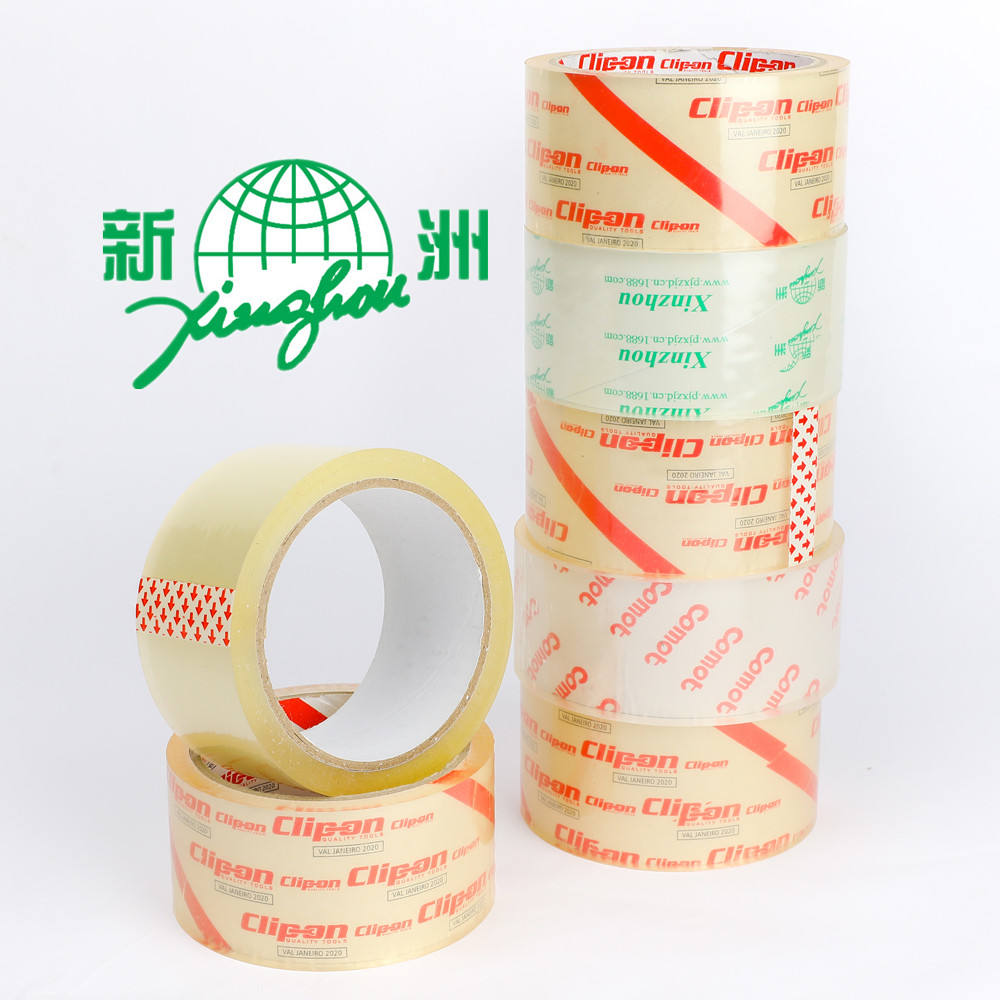 Sterke Stok <span class=keywords><strong>Super</strong></span> Clear Bopp Adhesive Verpakking Transparante Verpakking <span class=keywords><strong>Tape</strong></span> Voor Carton Sealing