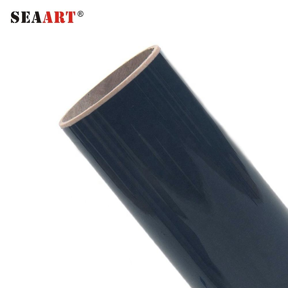 Seaart S925 Navy Color Popular Fashion Anti-Sublimation PU Heat Transfer Vinyl For Clothing