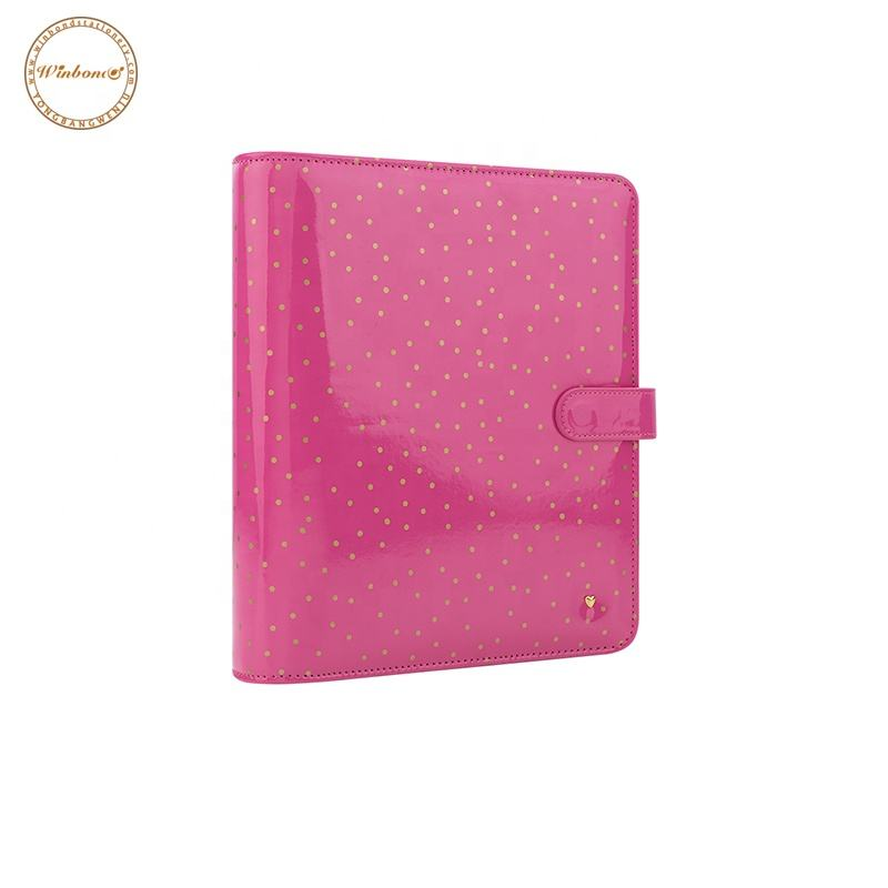Custom High Quality Cheap Office Supplies Stationery A5 Pu Leather