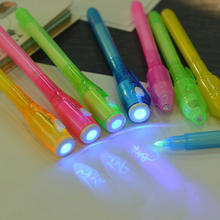 Stationery Creative Magic UV Light Pen Invisible Ink Pen Funny Marker Pen