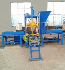 QTF3-20 color interlock paver cement block brick making machine molds