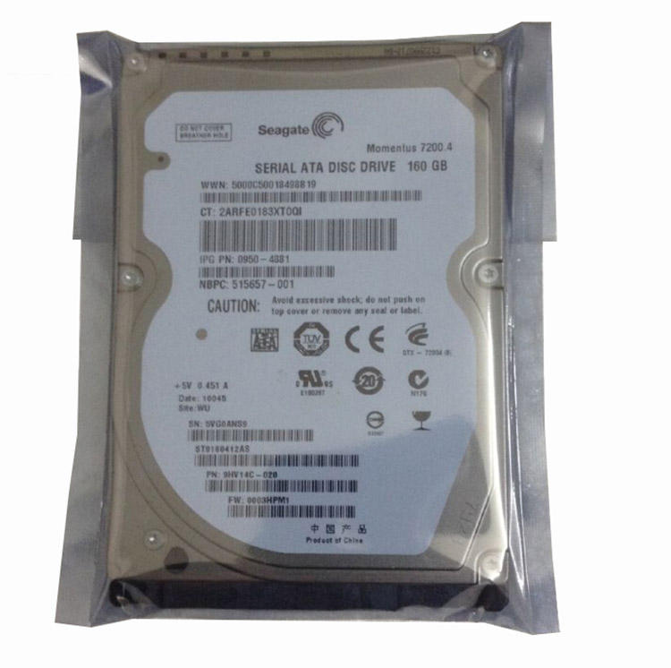 2017 new stock for pc 3.5inch 160gb SATA hard disk HDD