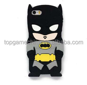 3D Batman Silicone Phone Case for iPhone 6 6s 7 8 8Plus,Cell Phone Cases for iPhone 7 7Plus