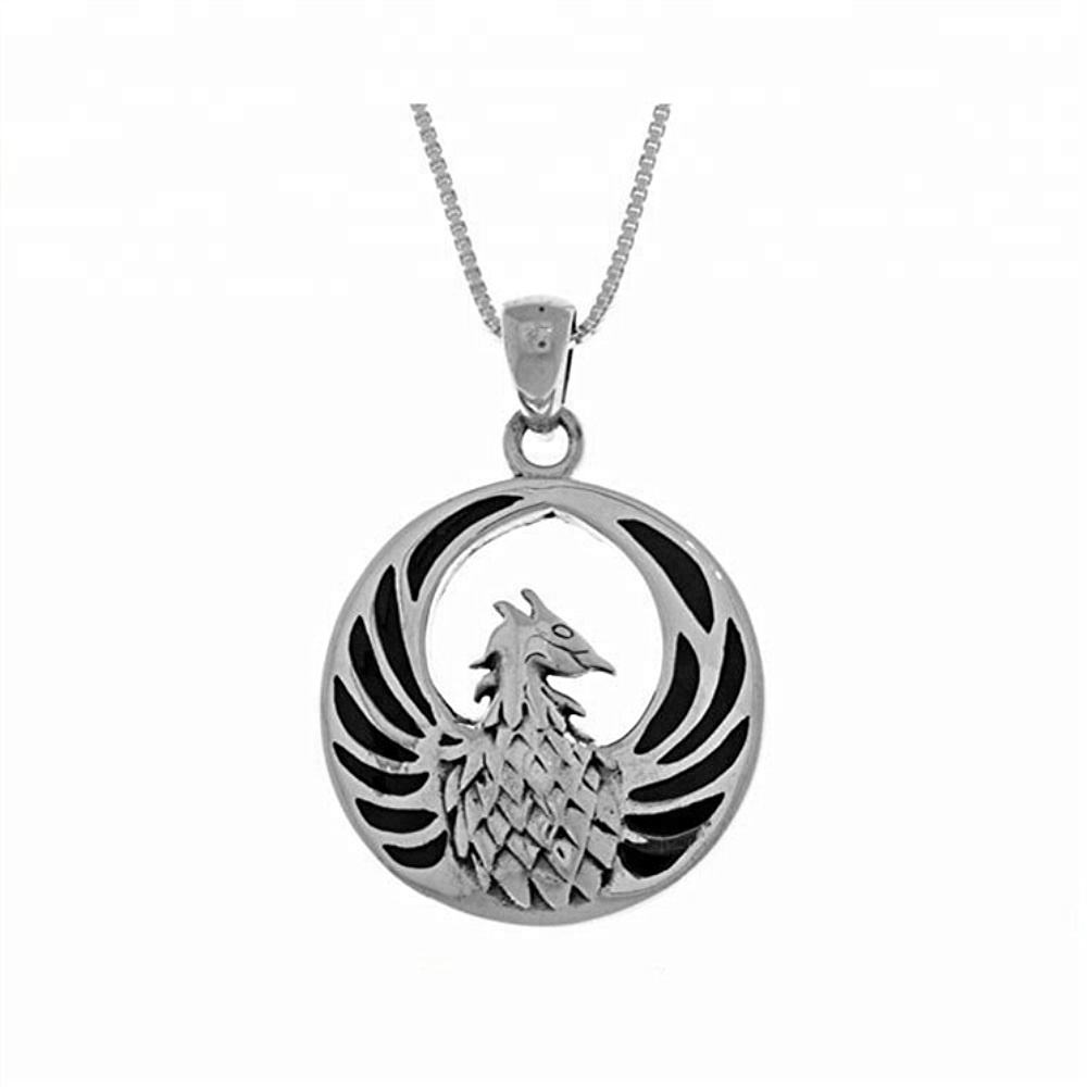 패션 trendy wholesale custom silver plated 새 necklace round 모양의 flamingo 펜 던 트 oval 버클 목걸이