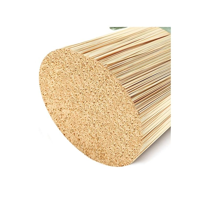 Raw incense bamboo agarbatti sticks for making indian incense
