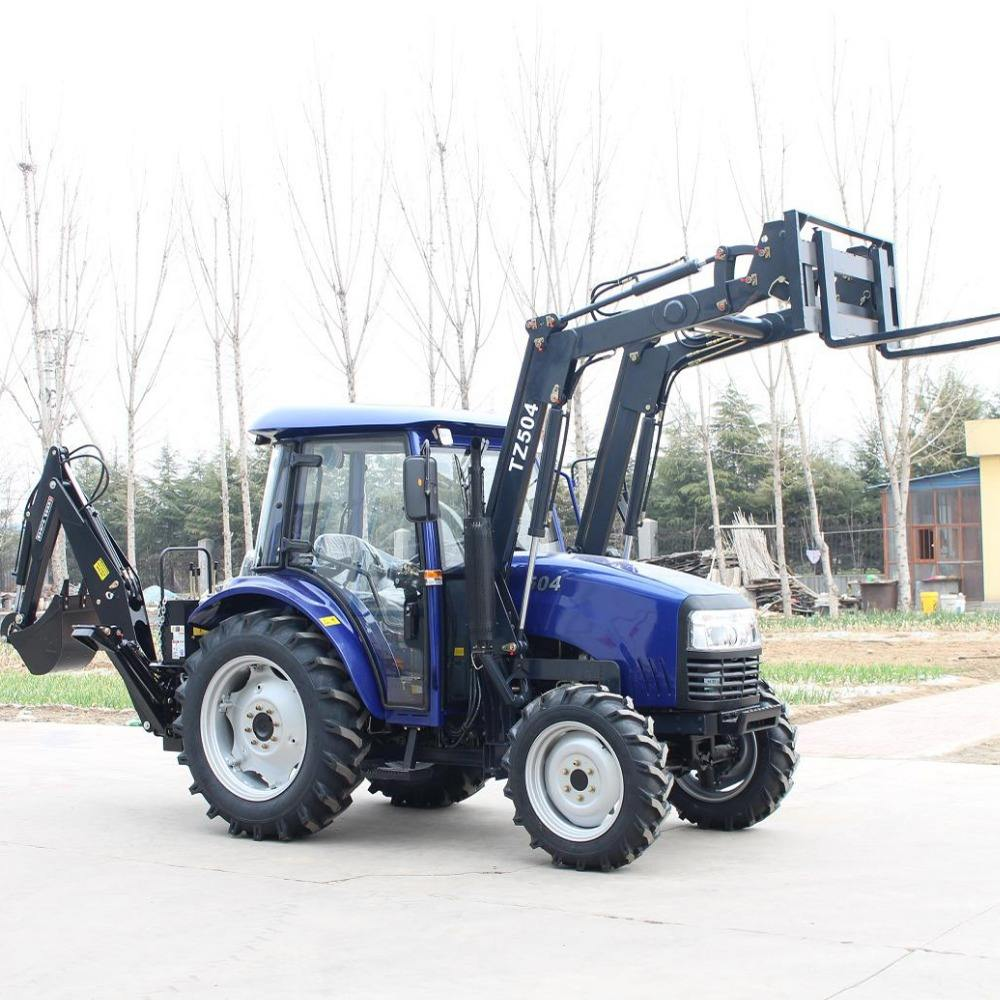 Factory supplier MAP504 50hp mini farm tractor 4 in 1 mini tractor kubota