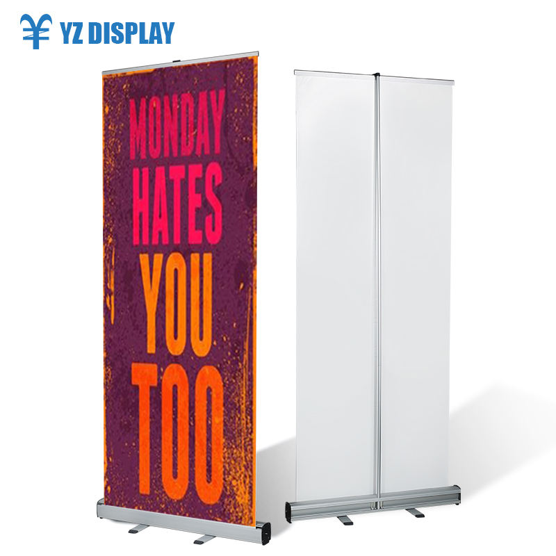 Trade Show Banner Stand Moving Roll Up Led Display