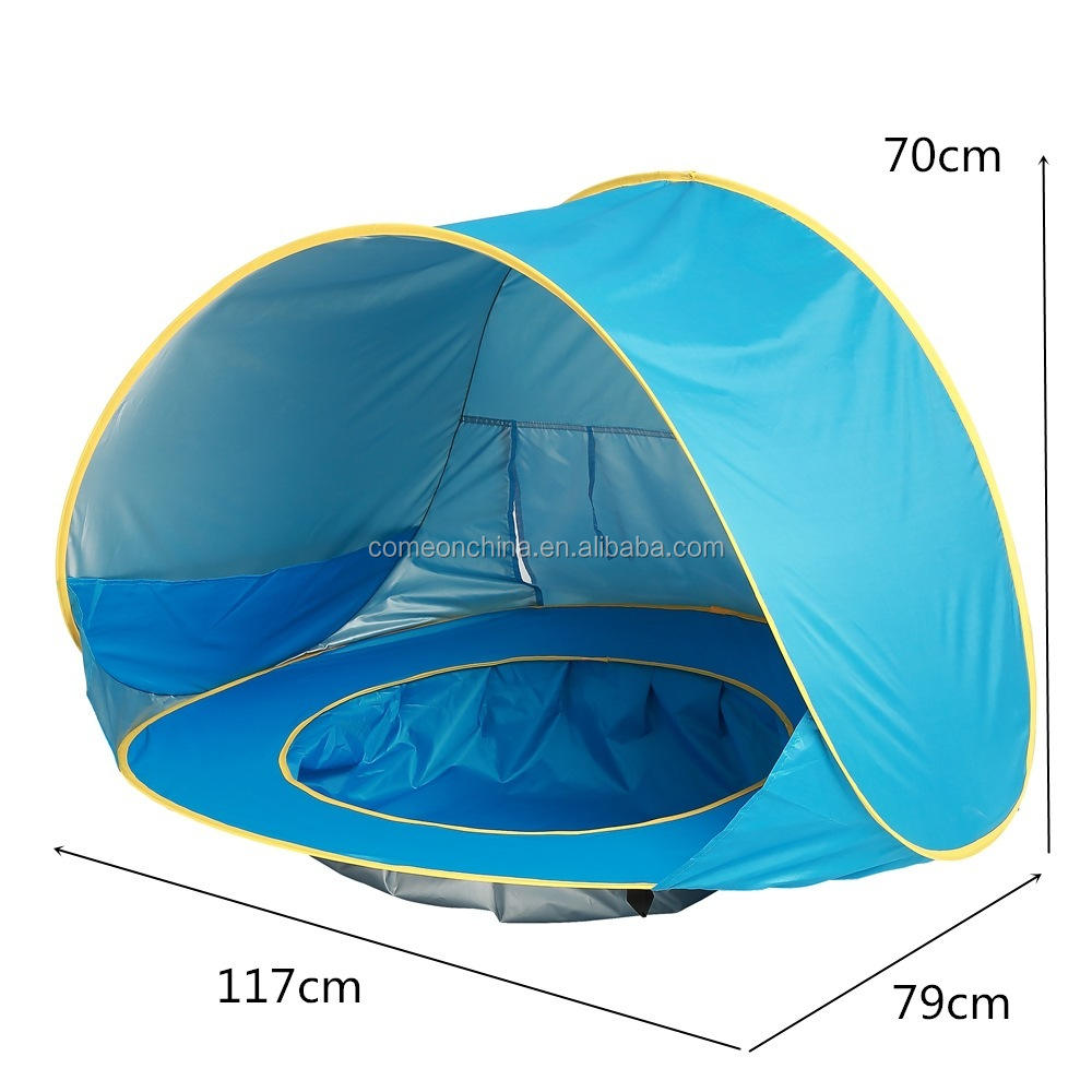 Baby Outdoor Beach Shade Children Pop Up Toy Tents For Kids Infant Play