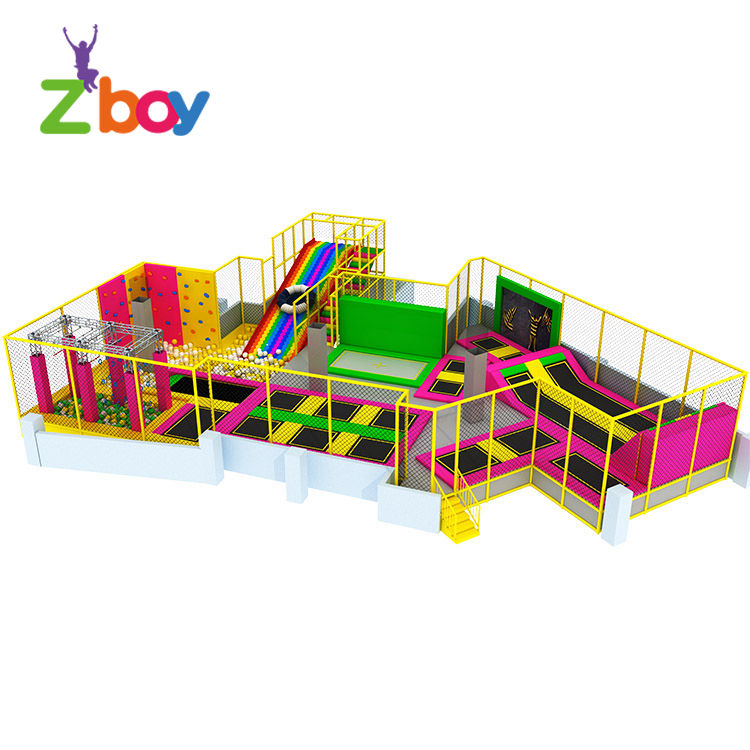 Factory Sale Safety Trampolines For Children And Adults For Gym Amusement Park