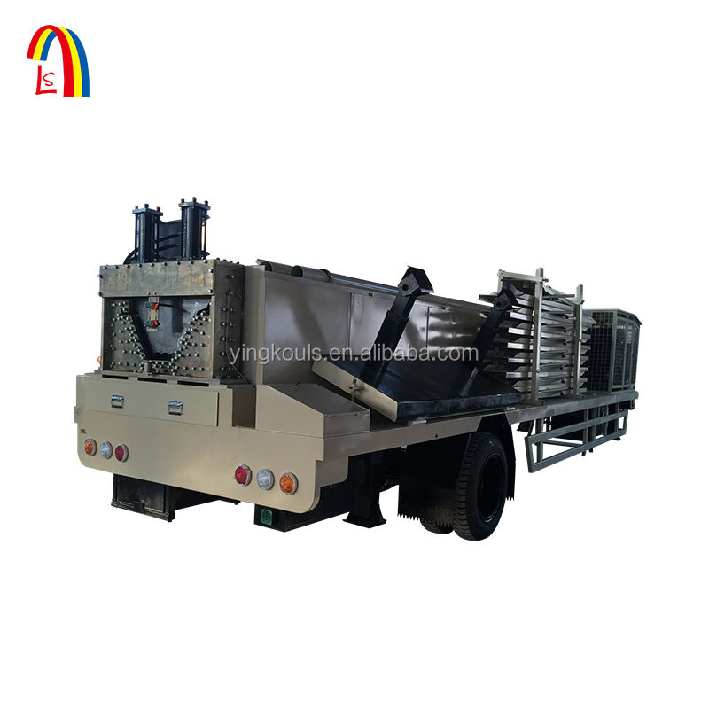 1250-800 China Make Long Span Trussless Roofing Sheet Curving Machine