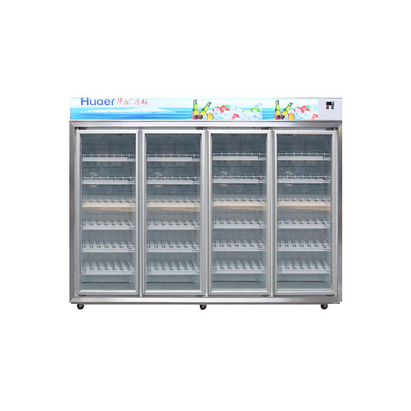 Grosir Vertikal Showcase Kulkas Upright Chiller Freezer Harga