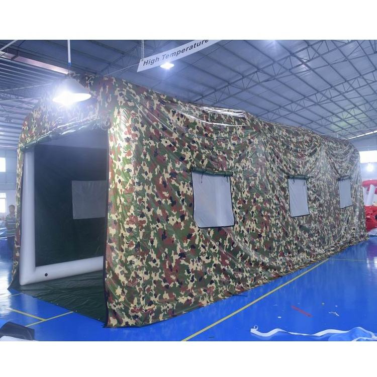 Large Air Sealed Camouflage Tent With PVC Tarpaulin Fabric For Military