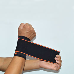 Yi Wu Adjustable Elasticity Wrist Brace Sports Wrap Wrist Support Strap for Tennis