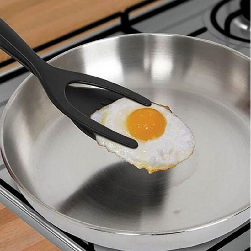 2 IN 1 Egg Spatula Grip and Flip Spatula Pancake Perfect For Hotel Home Cooking Silicone Kitchen Tools