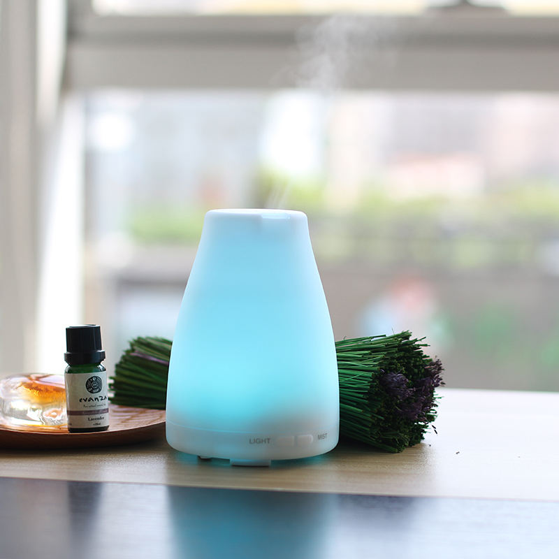Most Popular 100ml Essential 0il Mini Humidifier Electric Aroma Diffuser